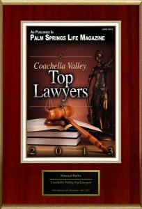 top attorney manuel barba in riverside